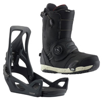 Burton Step On Bindings and Ion Boot Review - VIDEO
