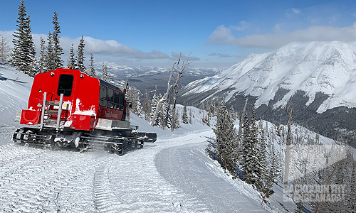 Castle Mountain Resort and Powder Stagecoach Cat Skiing