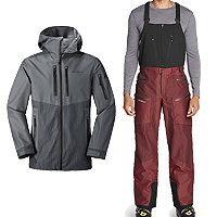 Eddie Bauer BC Duraweave Freshline Jacket and Pant
