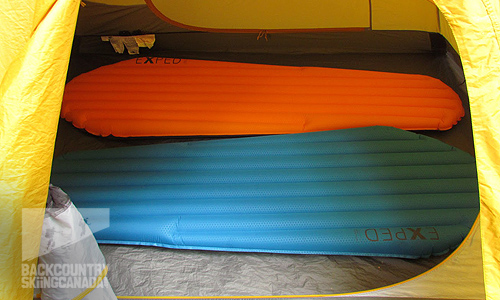 Exped Airmat Hyperlite and Synmat Hyperlite