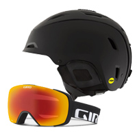 Giro Range Mips Helmet and Giro Contact Goggles