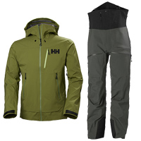 Helly Hansen Odin Mountain 3L Shell Jacket and Bib Pants