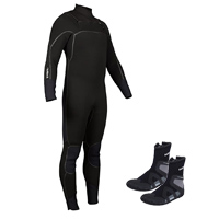 NRS 4/3 Radiant Wetsuit and Paddle Wetshoe Review