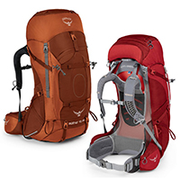 Osprey Aether AG 70 and Ariel AG 65 Backpack