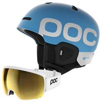 POC Orb Clarity Goggle and Auric Cut BC SPIN Helmet