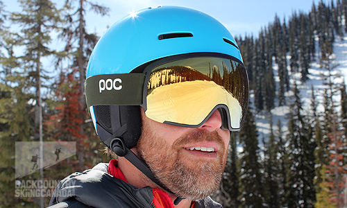 55e351f646 POC Orb Clarity Goggle and Auric Cut BC SPIN Helmet