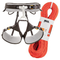 Petzl Aquila Harness and Arial 9.5 Rope