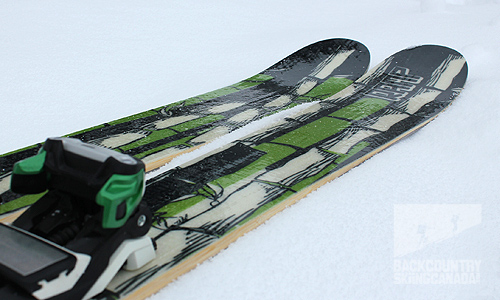Ramp BigBambooski Skis