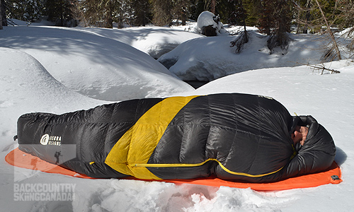 Sierra Designs Nitro 800 0º Sleeping Bag