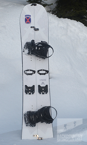 Weston 10th Mountain Splitboard