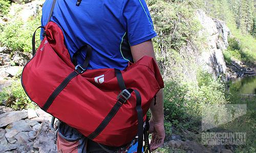 Black Diamond Solution Harness Super Chute Rope Bag
