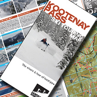 NEW Kootenay Pass Ski Touring Map - On Sale Now!