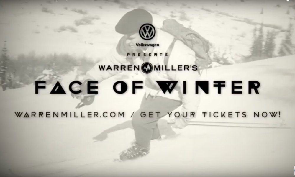 A sure sign that winter is coming—Warren Miller's latest ski flick: Face of Winter
