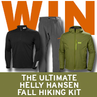 WIN The Ultimate Helly Hansen Fall Hiking Kit