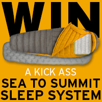Win the Ultimate Sea To Summit Sleep System by entering our latest giveaway!