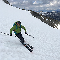 Skiing Kokanee Glacier in July