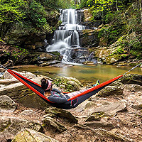 Eno SuperSub Hammock & Helios Suspension System - VIDEO