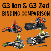 G3 Ion and G3 Zed Binding Comparison - VIDEO
