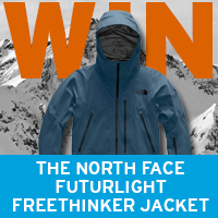 WIN a North Face FUTURELIGHT Freethinker Jacket