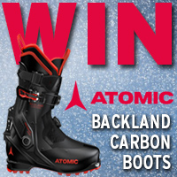 WIN a pair of Atomic Backland Carbon Boots