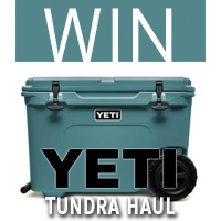 WIN a YETI Tundra Haul Cooler
