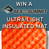 Enter to WIN a Sea to Summit Ultralight Insulated Air Sleeping Mat