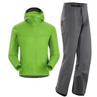Arc'teryx Procline Hybrid Hoody and Procline FL Pants