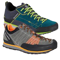 Scarpa Crux and Cosmo Shoes--REVIEW